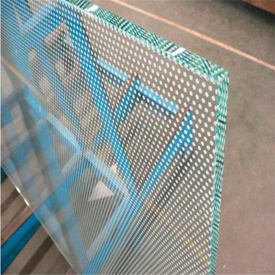 Tempered Decorative Flat Glass Silk Screen Printing Glass